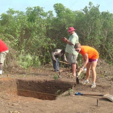 Excavations in progress